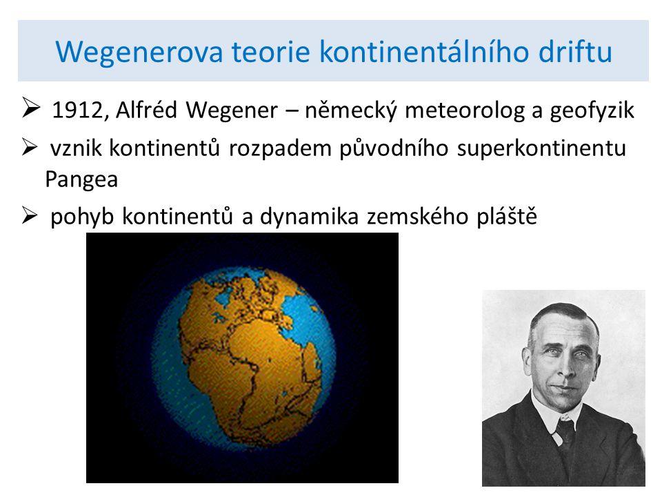 Wegenerova teorie kontinentálního driftu