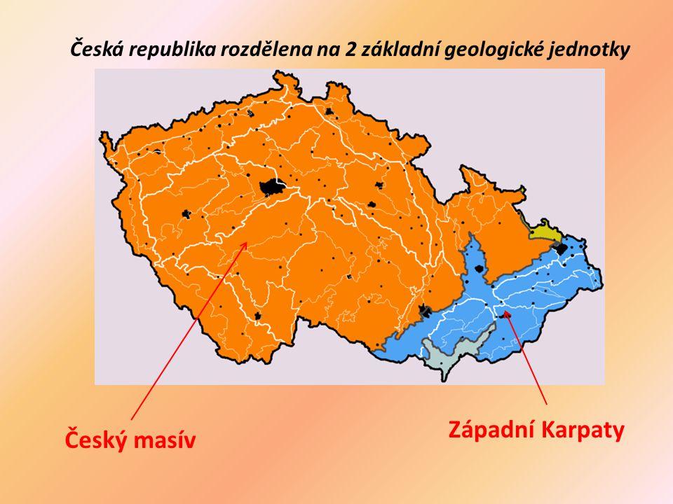Západní Karpaty Český masív