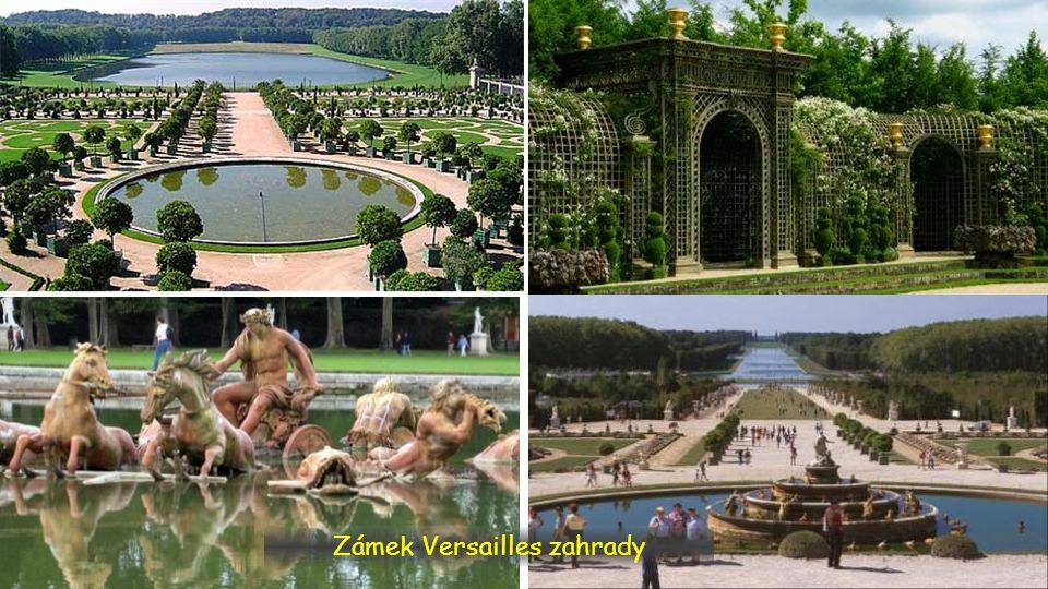 Zámek Versailles zahrady