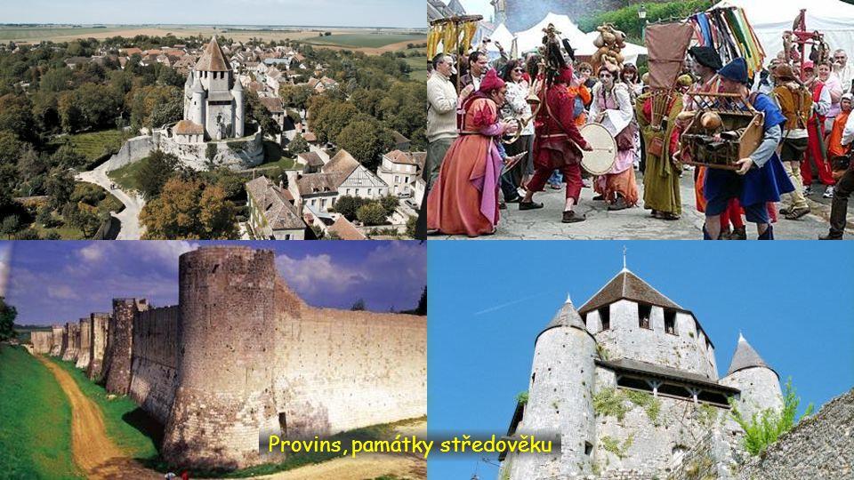 Provins, památky středověku