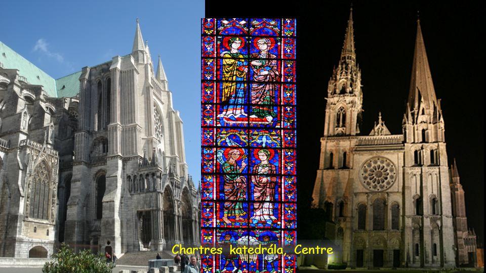 Chartres katedrála, Centre