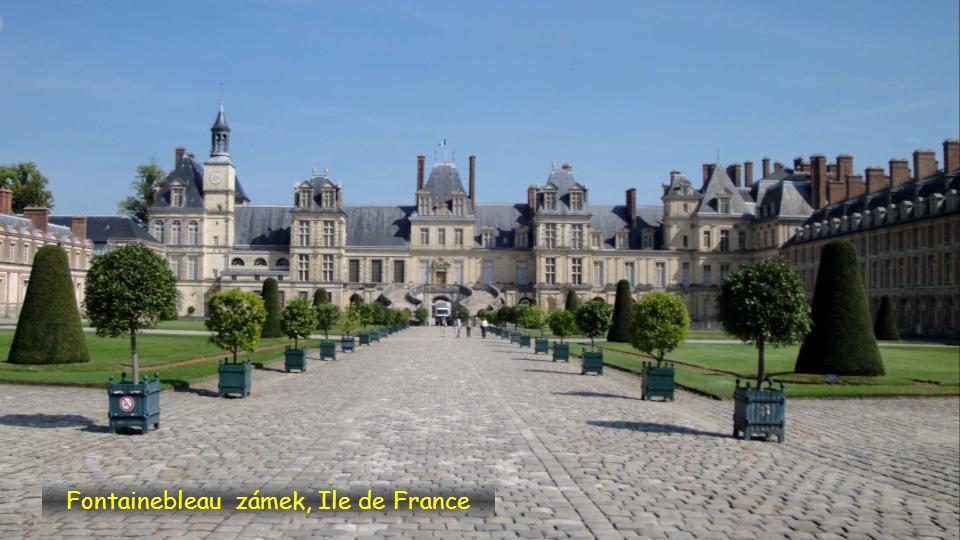 Fontainebleau zámek, Ile de France