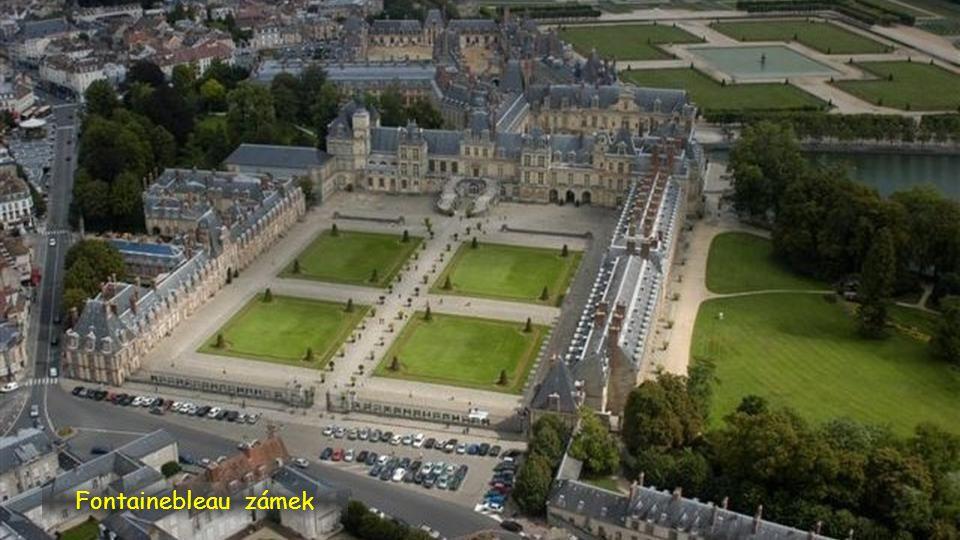 Fontainebleau zámek