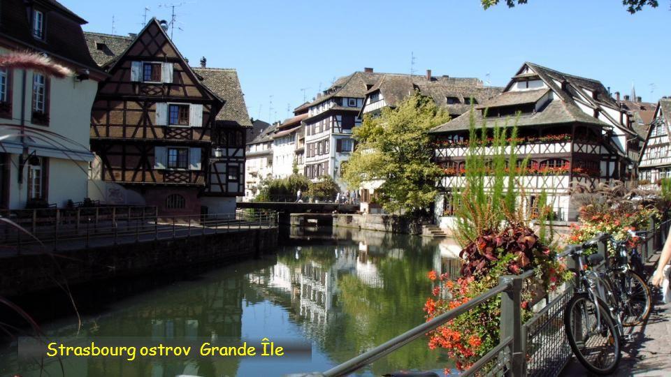 Strasbourg ostrov Grande Île