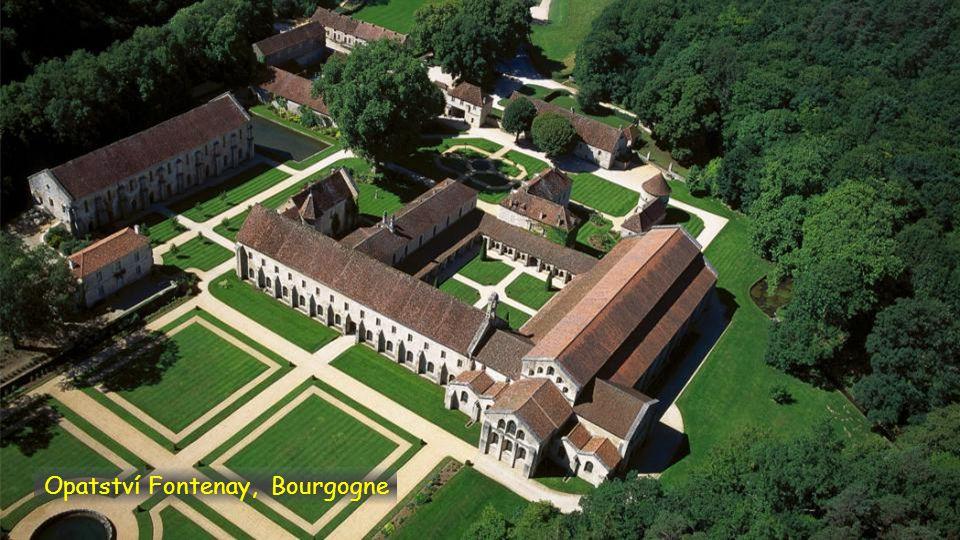 Opatství Fontenay, Bourgogne