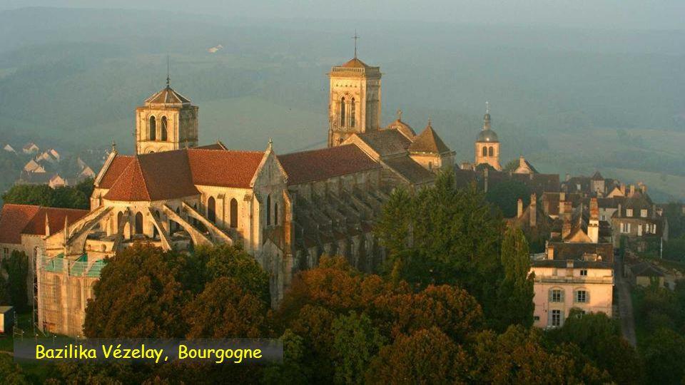 Bazilika Vézelay, Bourgogne