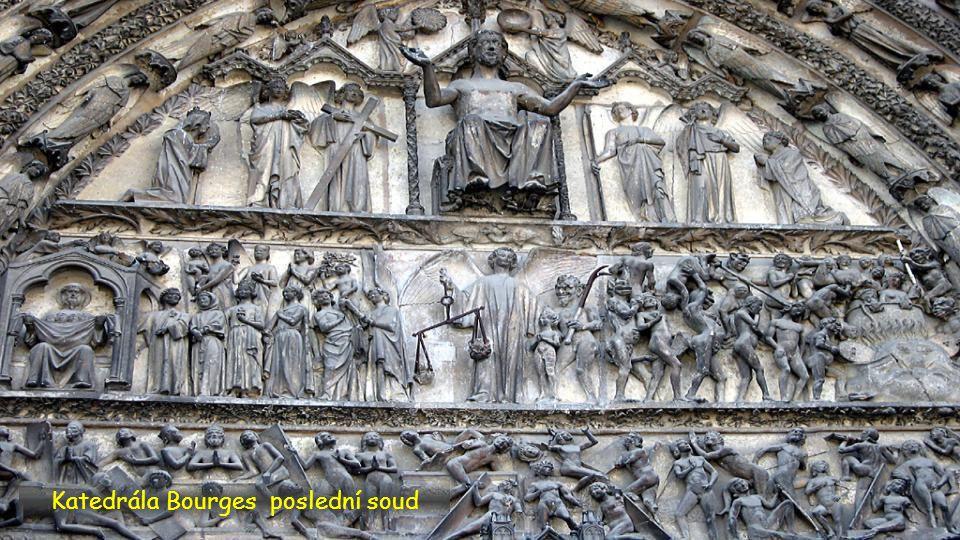 Katedrála Bourges poslední soud