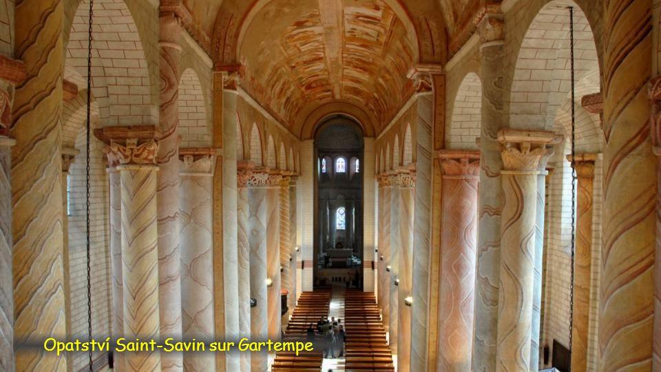 Opatství Saint-Savin sur Gartempe