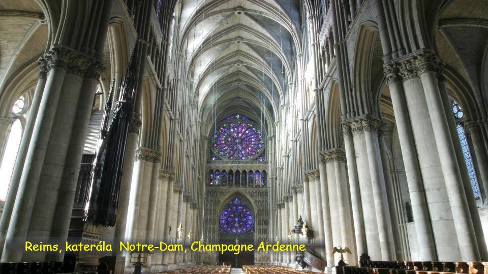 Reims, katerála Notre-Dam, Champagne Ardenne