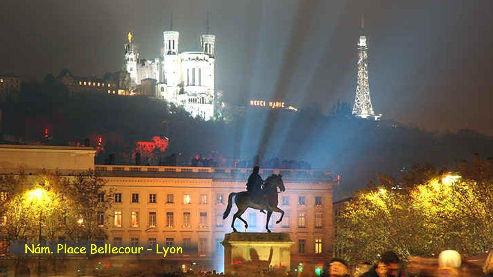 Nám. Place Bellecour – Lyon