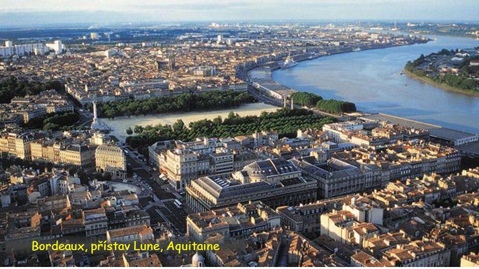 Bordeaux, přístav Lune, Aquitaine