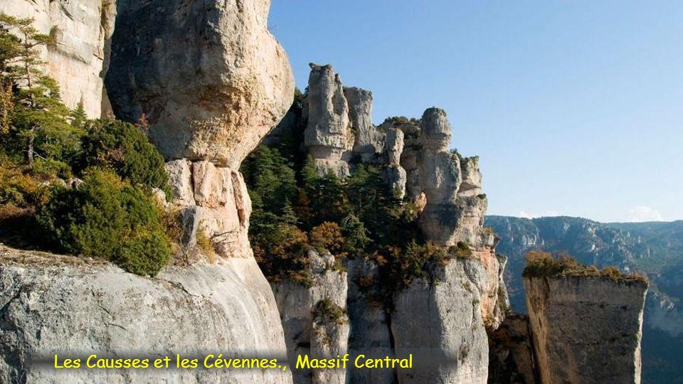 Les Causses et les Cévennes., Massif Central
