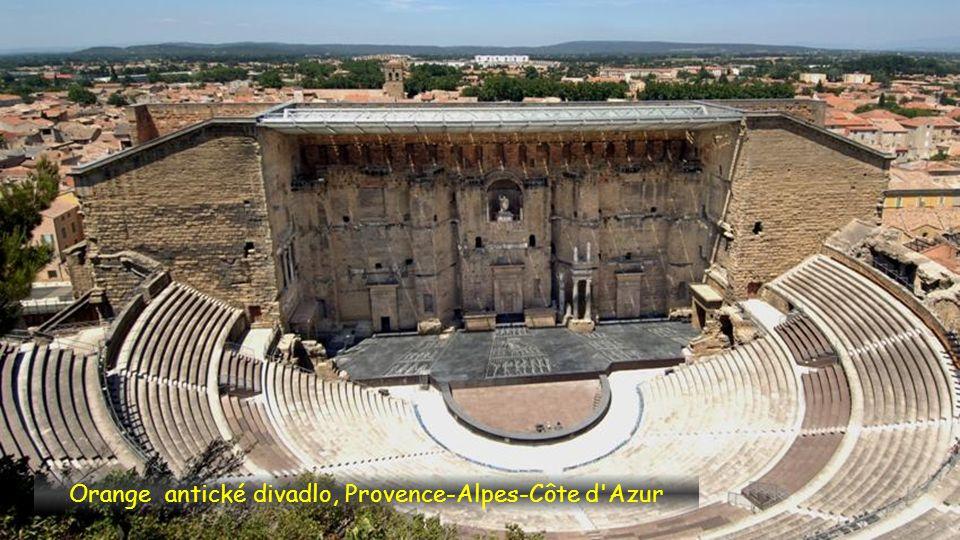 Orange antické divadlo, Provence-Alpes-Côte d Azur