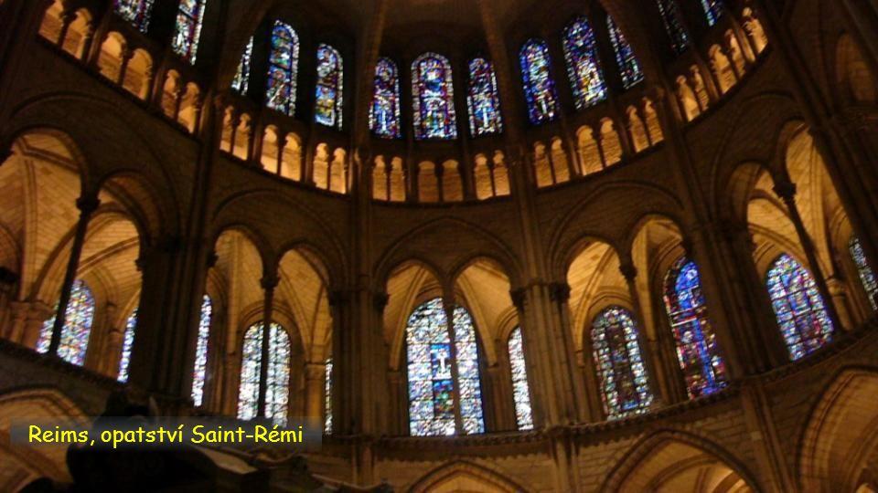 Reims, opatství Saint-Rémi