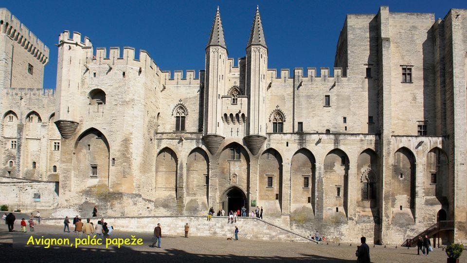 Avignon, palác papeže