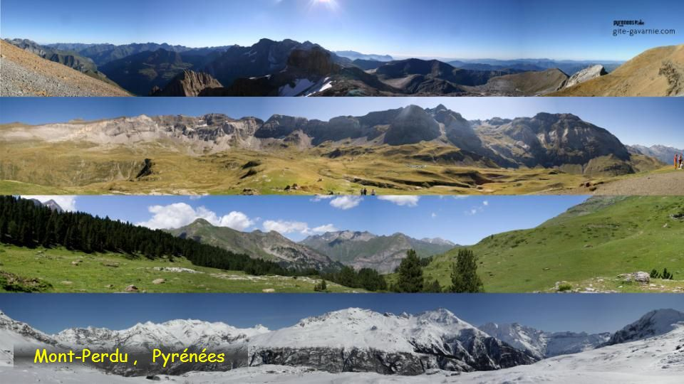 Mont-Perdu , Pyrénées