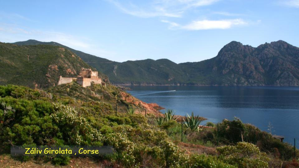 Záliv Girolata , Corse