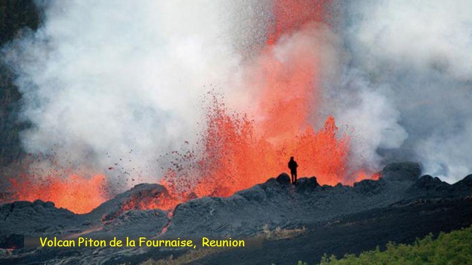 Volcan Piton de la Fournaise, Reunion