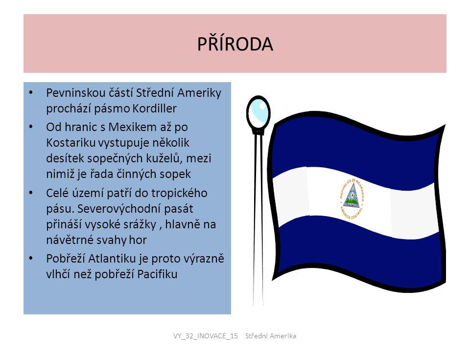 VY_32_INOVACE_15 Střední Amerika