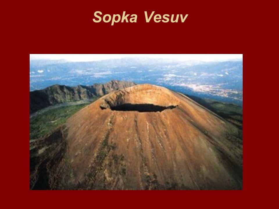 Sopka Vesuv