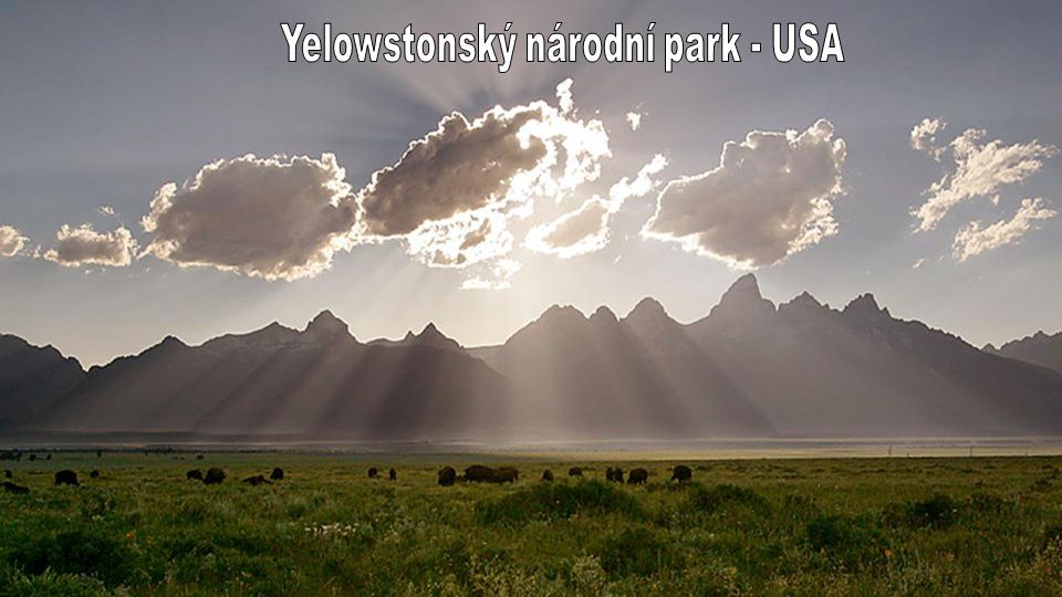 Yelowstonský národní park - USA