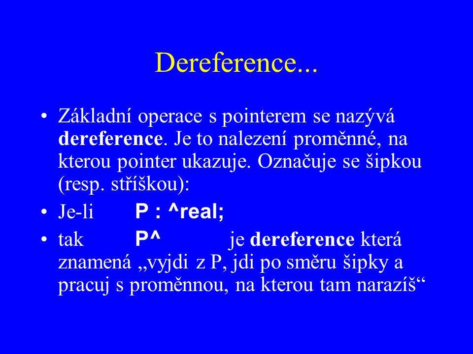 Dereference...
