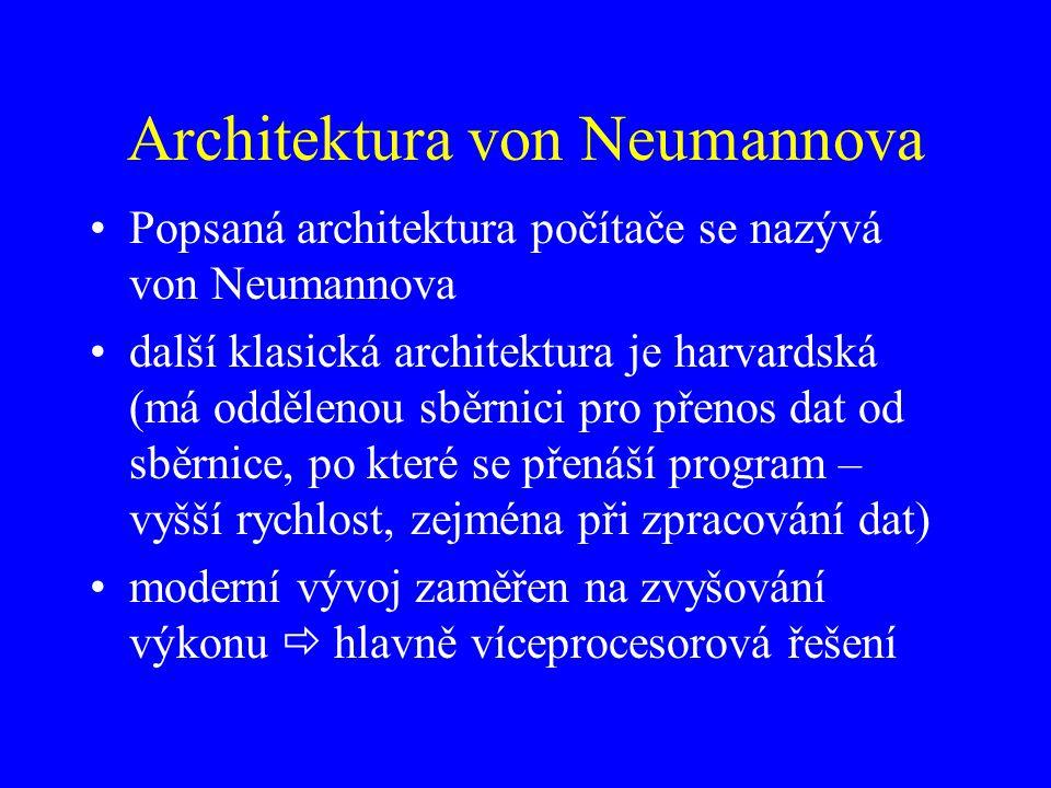 Architektura von Neumannova