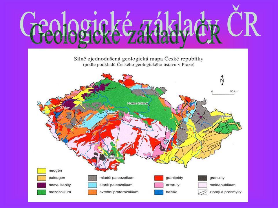 Geologické základy ČR