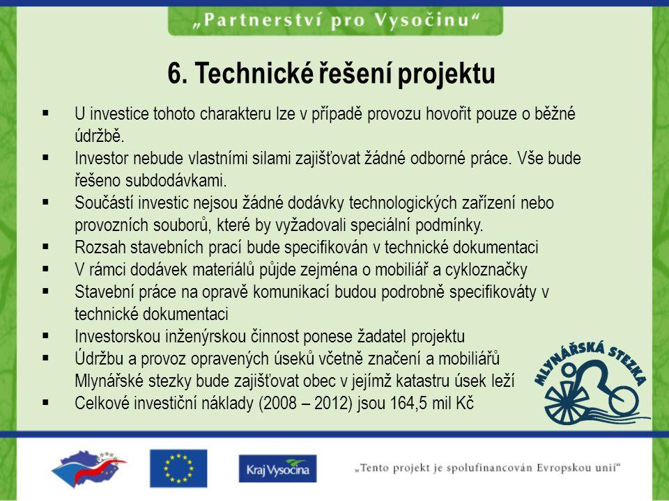 6. Technické řešení projektu