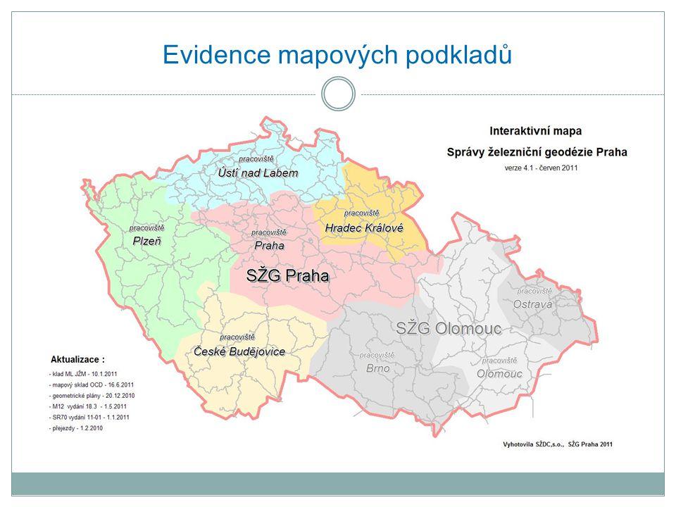 Evidence mapových podkladů
