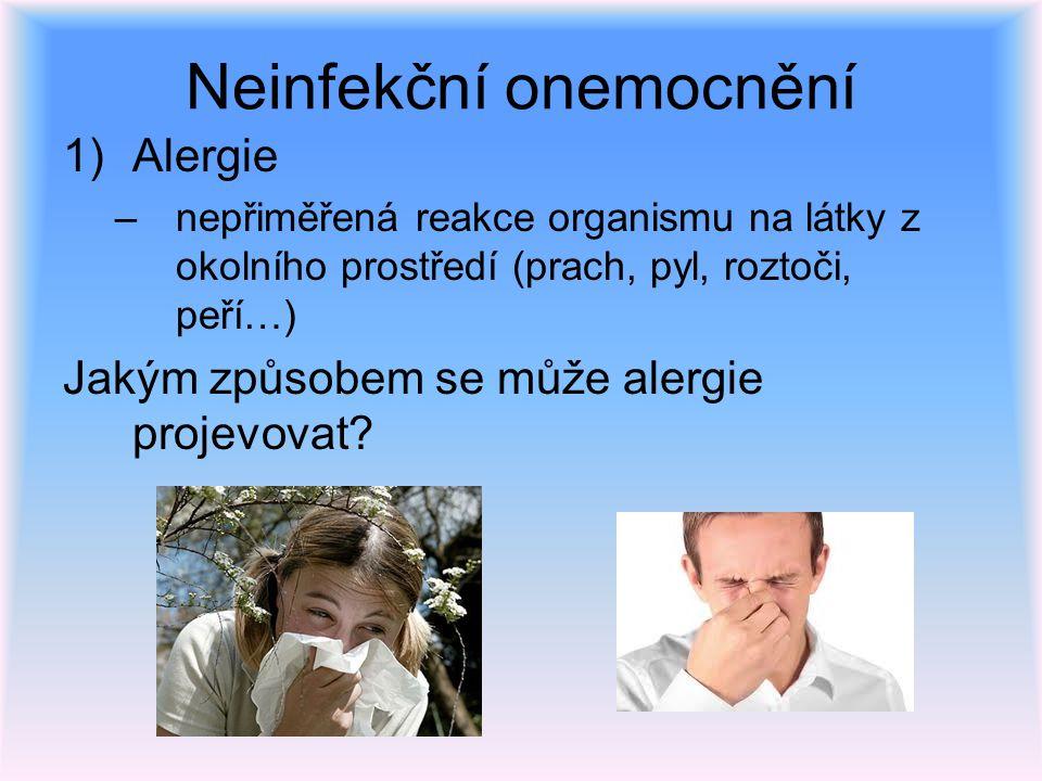 Neinfekční onemocnění