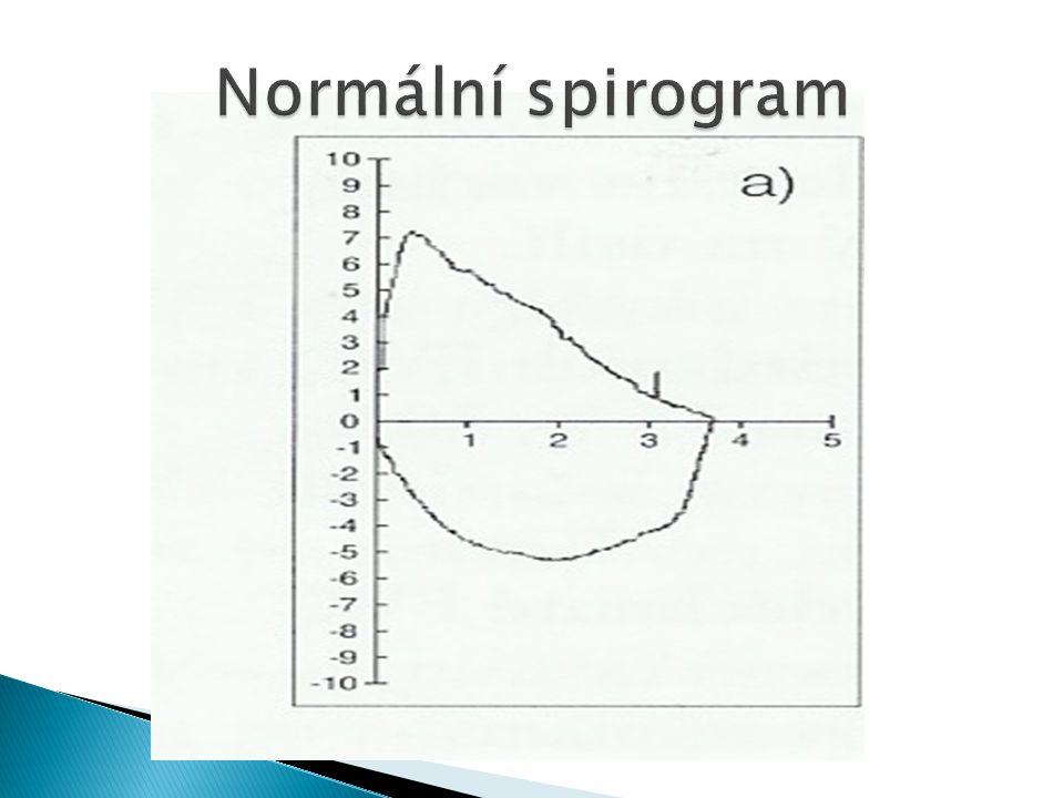 Normální spirogram