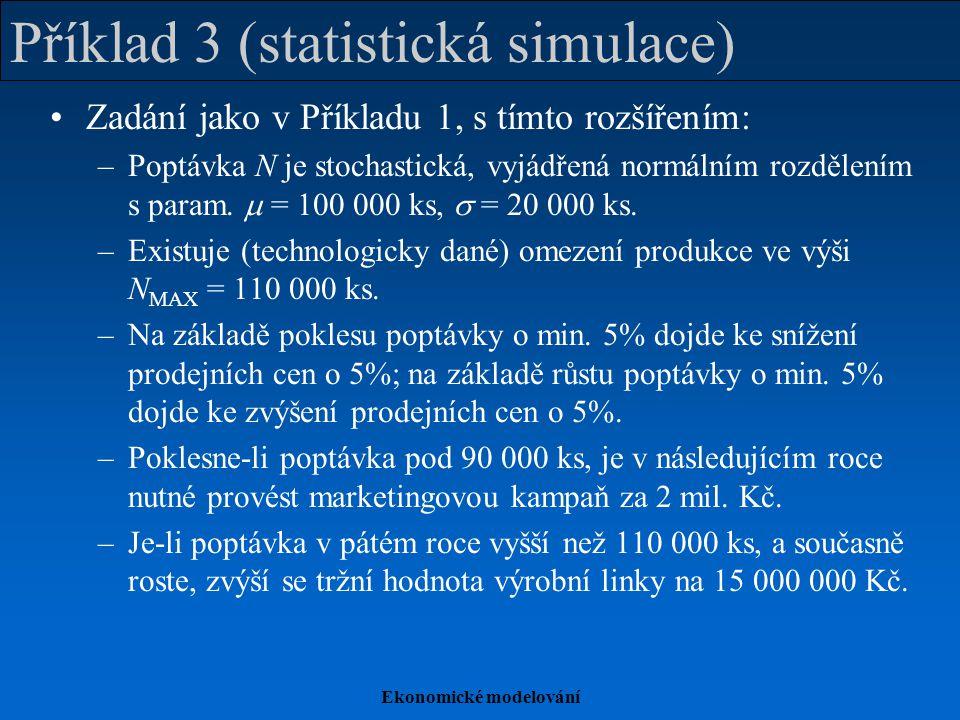 Příklad 3 (statistická simulace)