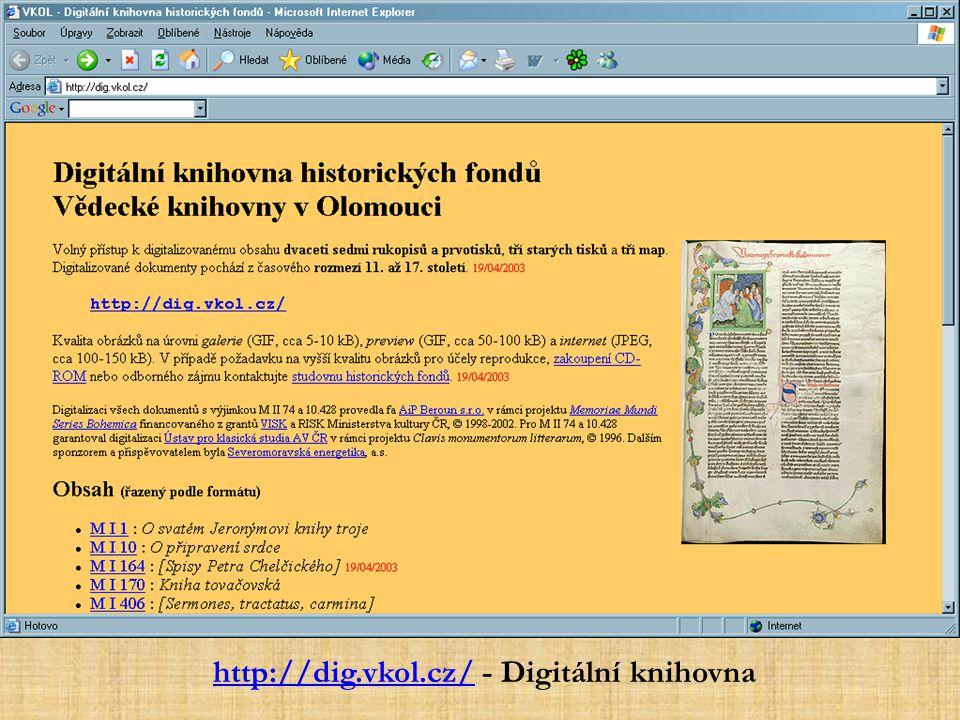 http://dig.vkol.cz/ - Digitální knihovna