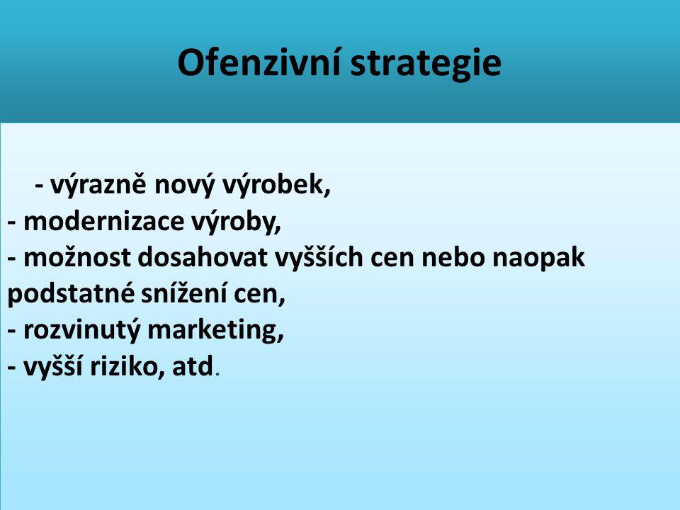 Ofenzivní strategie