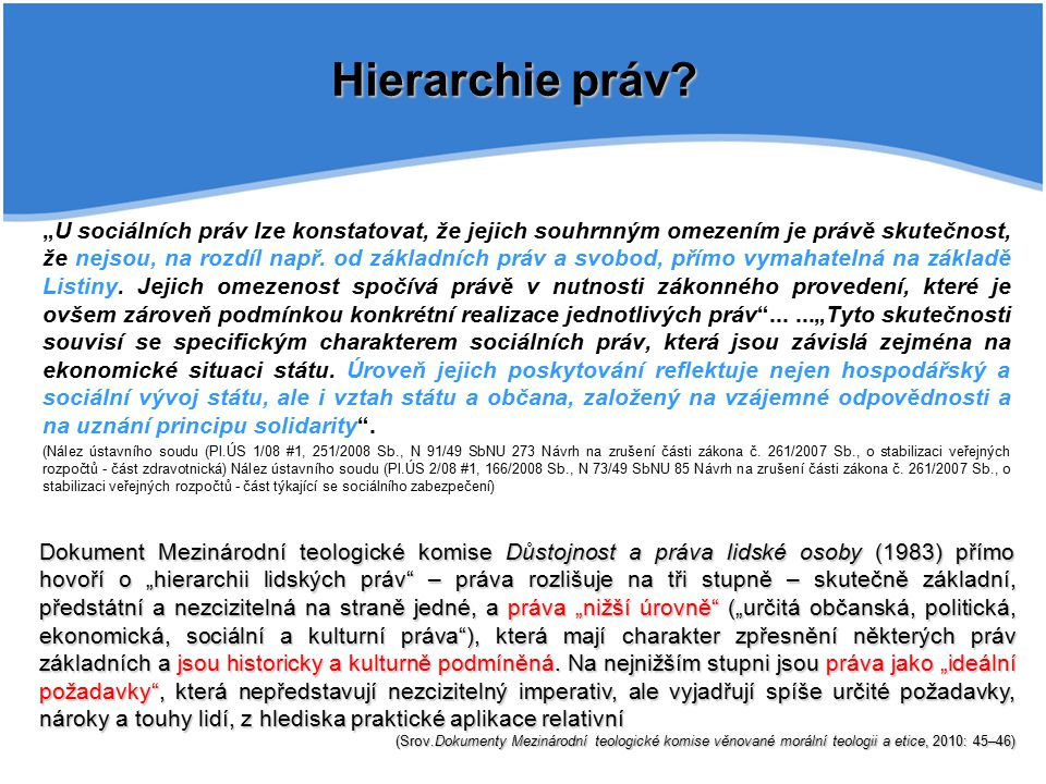 Hierarchie práv