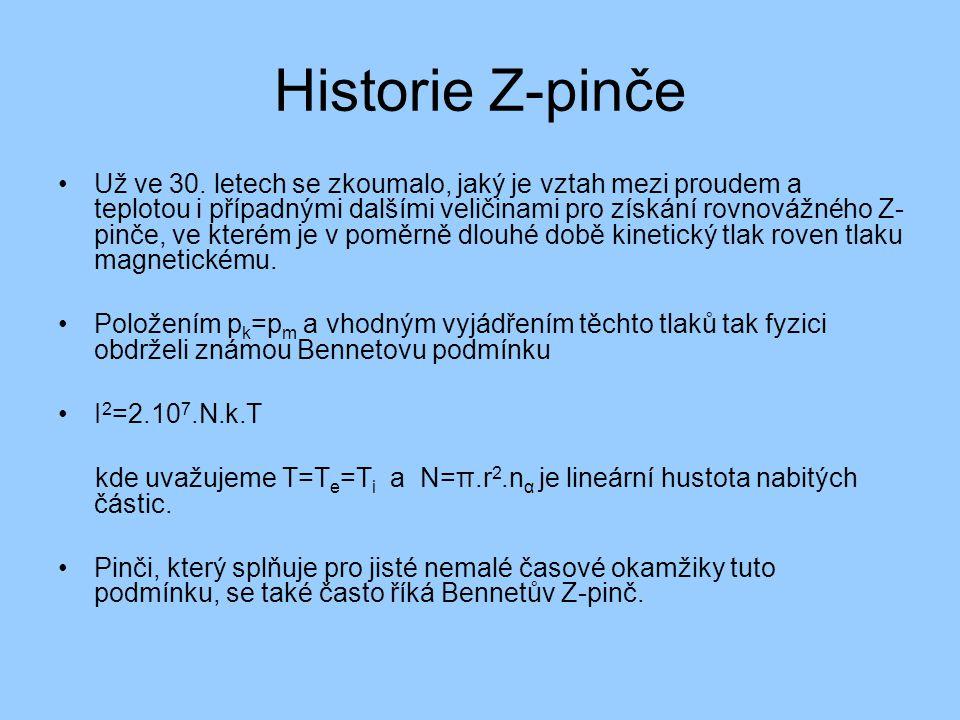 Historie Z-pinče