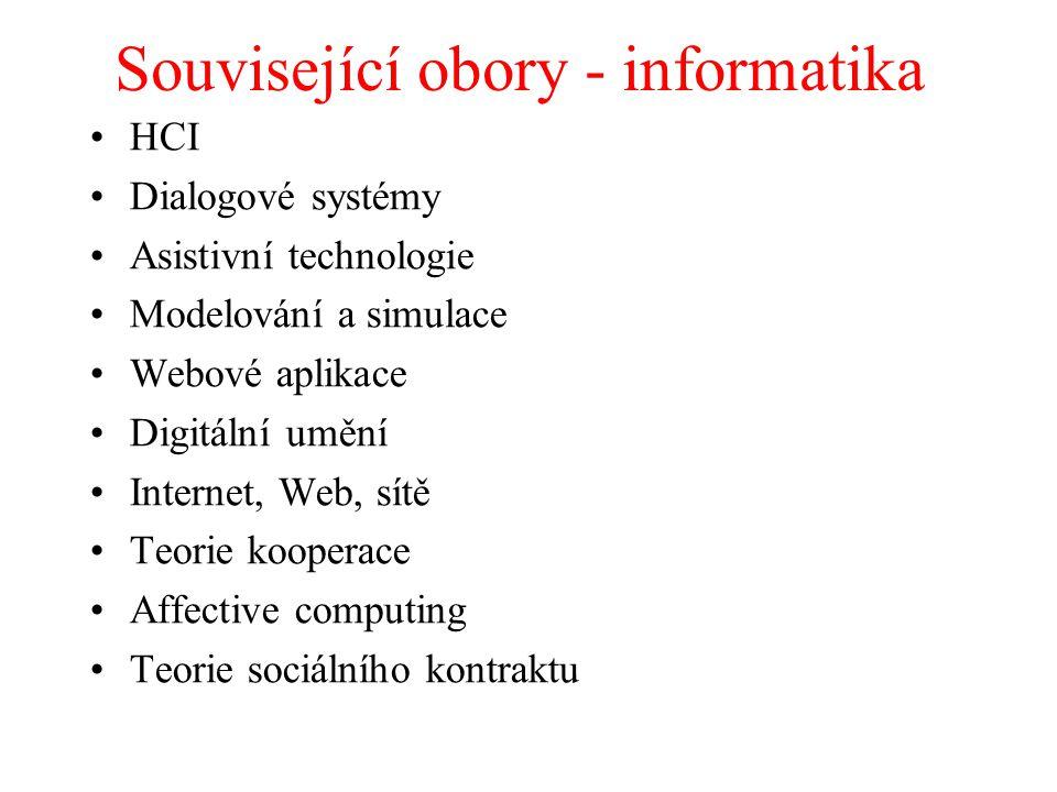 Související obory - informatika