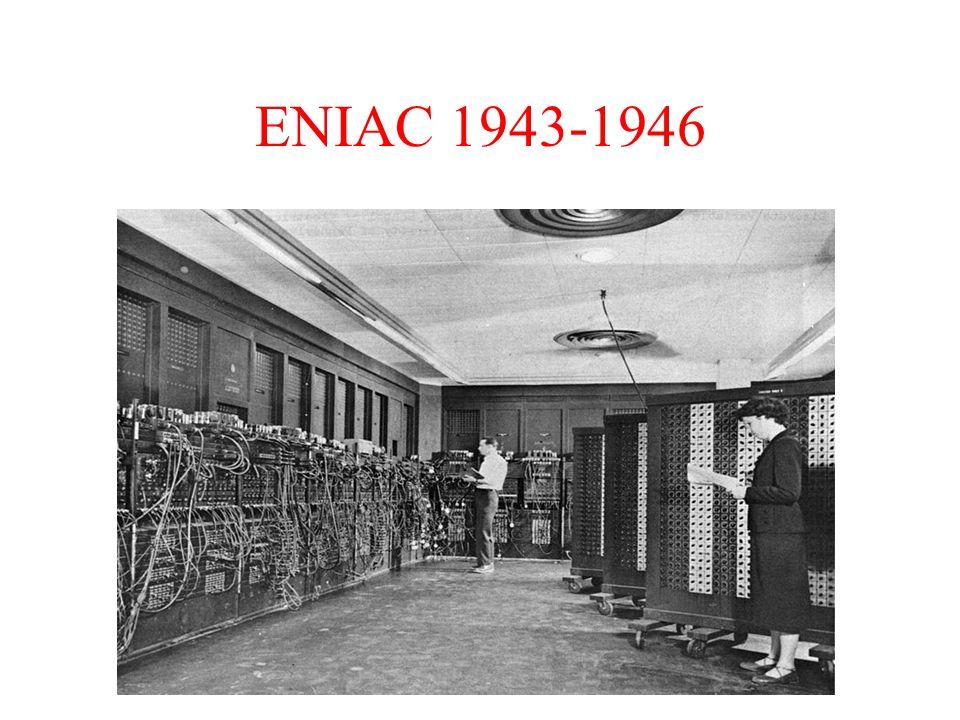 ENIAC 1943-1946
