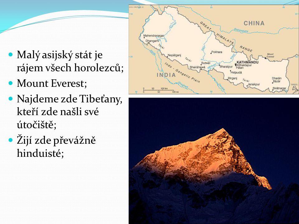 Malý asijský stát je rájem všech horolezců;