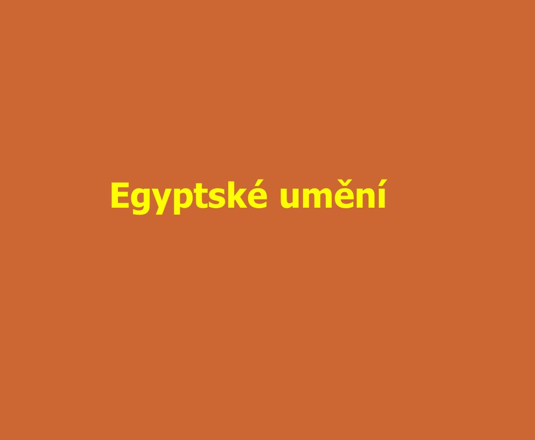 Egyptské umění