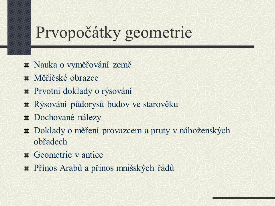 Prvopočátky geometrie