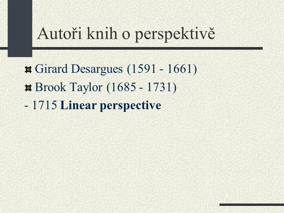 Autoři knih o perspektivě