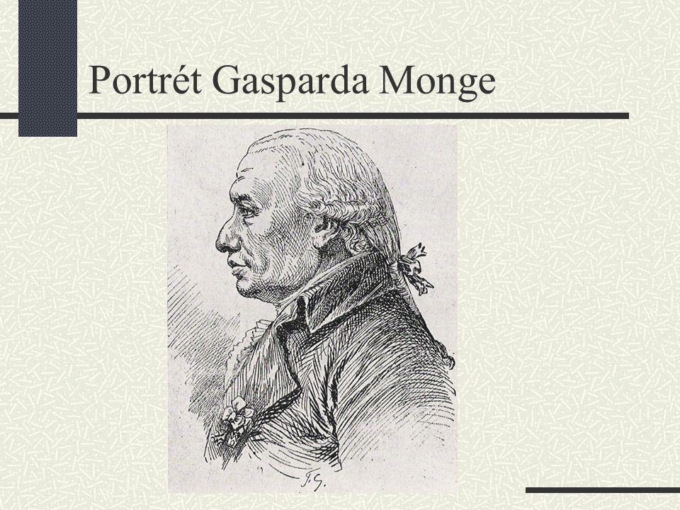 Portrét Gasparda Monge