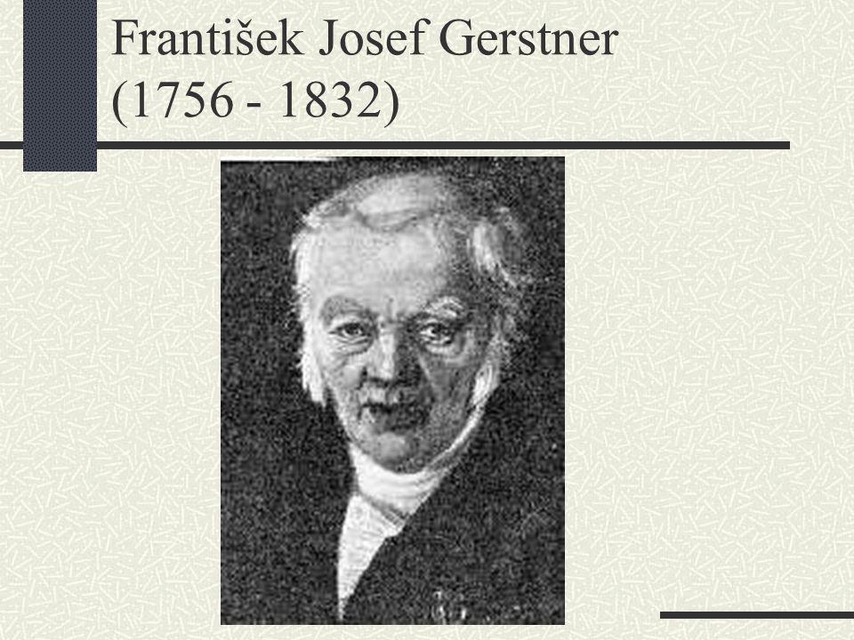 František Josef Gerstner (1756 - 1832)