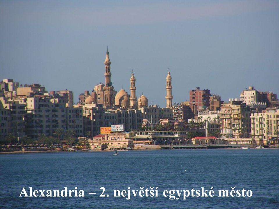 Alexandria – 2. největší egyptské město