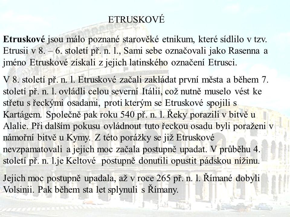 ETRUSKOVÉ
