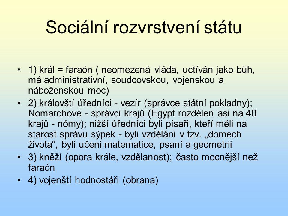 Sociální rozvrstvení státu