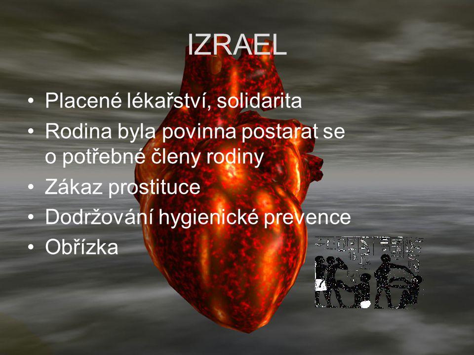 IZRAEL Placené lékařství, solidarita