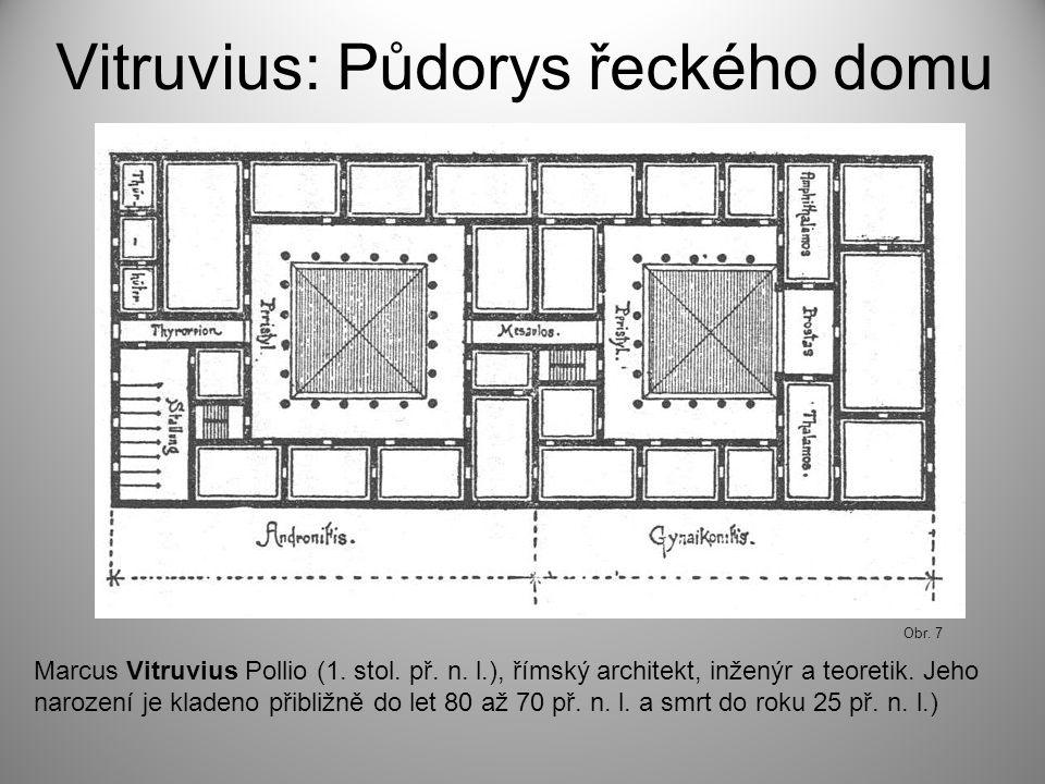 Vitruvius: Půdorys řeckého domu